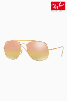 Ray-Ban® Rose Gold General Sunglasses