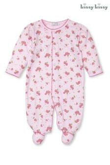 Kissy Kissy Pink Strawberry Soiree Sleepsuit