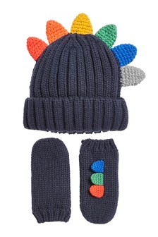 2 Piece Hat And Gloves Set (3mths-6yrs)