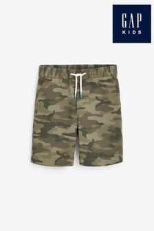 Gap Camouflage Tie Waist Shorts