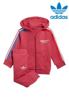 adidas Originals Infant Adicolour Zip Through Hoodie