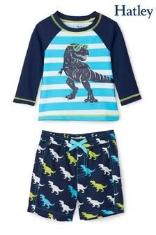 Hatley Cool T-Rex Baby Rashguard Set