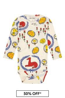 Mini Rodini Baby Cream Bodysuit