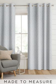 Pionna Silver Grey Made To Measure Curtains