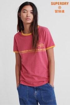 Superdry Vintage Logo Ringer T-Shirt