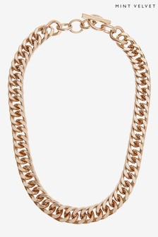 Mint Velvet Gold Extreme Chain Necklace