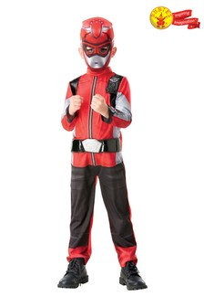 Rubies Red Power Ranger Beast Morpher Deluxe Costume