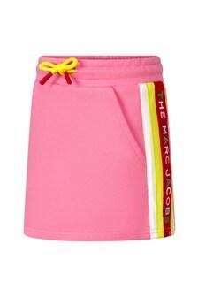 Marc Jacobs Girls Pink Cotton Skirt