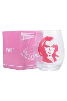Thunderbirds Lady Penelople Gin Glass