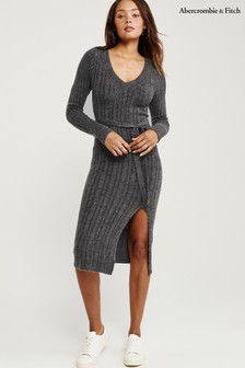 Abercrombie & Fitch Grey Sweat Dress