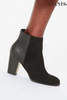 Oasis Black Betty Ankle Boots