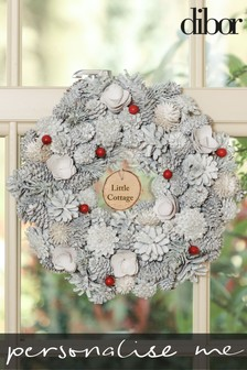 Personalised Frosty Morning Nordic Wreath by Dibor