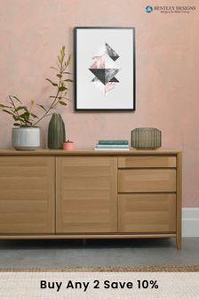 Bergen Oak Wide Sideboard by Bentley Designs