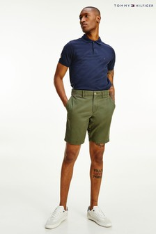 Tommy Hilfiger Green Brooklyn Twill Shorts