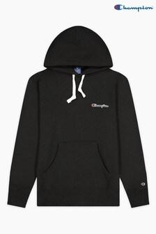 Champion Black Hooded Sweatshirt