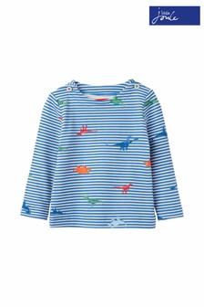 Joules Blue Harbour Print Jeresy Top