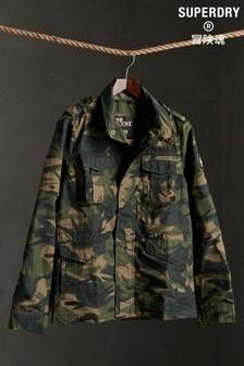 Superdry Khaki Camouflage Rookie Jacket