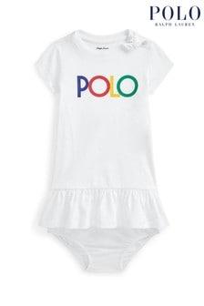Ralph Lauren White Polo Dress