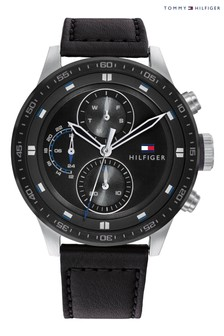 Tommy Hilfiger Black Strap Watch