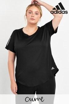 adidas Curve Black Own The Run T-Shirt