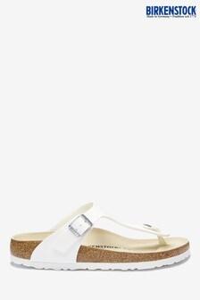 Birkenstock® White Gizeh Sandals