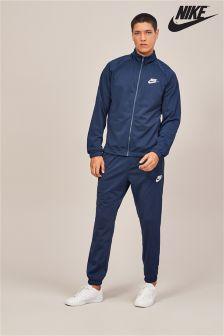 Nike Obsidian Navy Fleece NSW Tracksuit