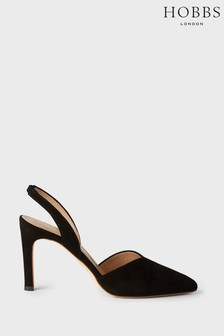 Hobbs Black Camilla Court Shoes