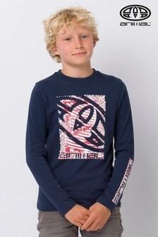 Animal Blue Board Long Sleeve T-Shirt