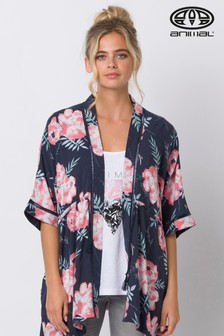 Animal Blue Kimchie Beach Cover Up