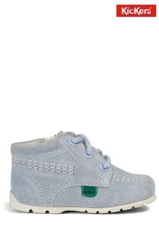 Kickers Blue Kick Hi Baby Shoes