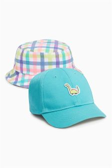 Fisherman's Hat And Cap Two Pack (Younger)