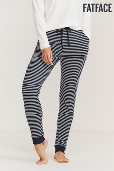 FatFace Blue Sparkle Stripe Lounge Pants