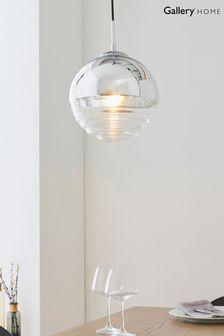 Gallery Direct Chrome Faith Pendant Light