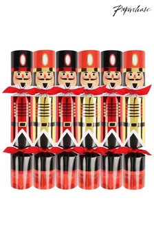 Set of 6 Paperchase Nutcracker Crackers
