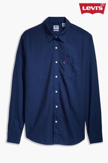Levi's® Blue Long Sleeve Shirt