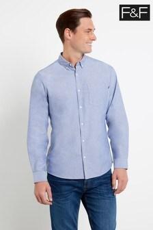 F&F Blue Light Oxford Shirt