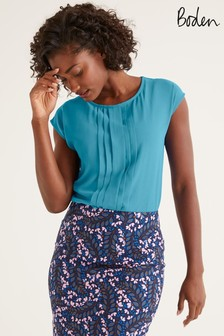 Boden Blue Dakota Jersey Top