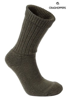Craghoppers Womens Woodland Green Hiker Socks