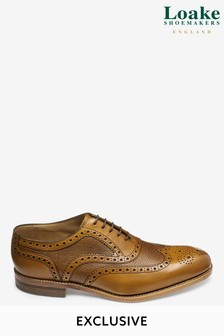 Loake Textured Brogue