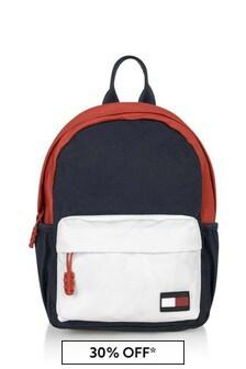 Kids Navy Flag Mini Backpack