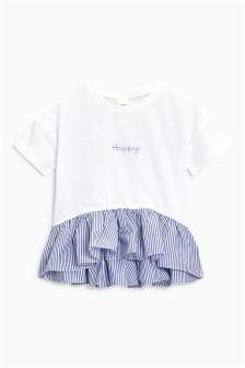 Happy Peplum Top (3mths-6yrs)