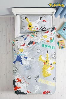 Pokémon™ Duvet Cover and Pillowcase Set