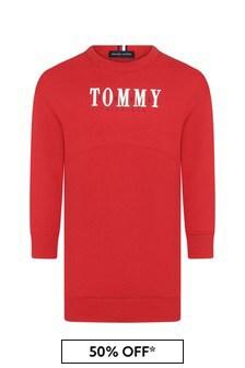Tommy Hilfiger Red Cotton Dress