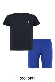 Emporio Armani Baby Navy T-Shirt And Shorts