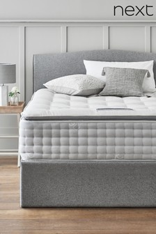 3600 Pocket Sprung Luxury Natural Pillow Top Firm Mattress