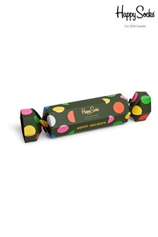 Happy Socks Men's Holiday Dots Crackers 2 Pack