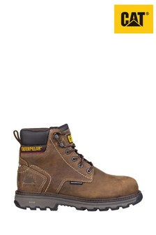 CAT® Brown Precision Lace-Up Boots