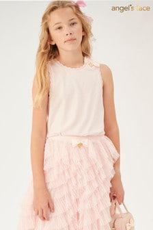 Angel's Face Pink Jay Ballet Sleeveless Top