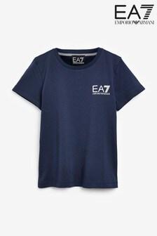 Emporio Armani EA7 Navy Core ID T-Shirt
