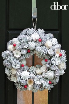 Frosty Morning Nordic Wreath by Dibor